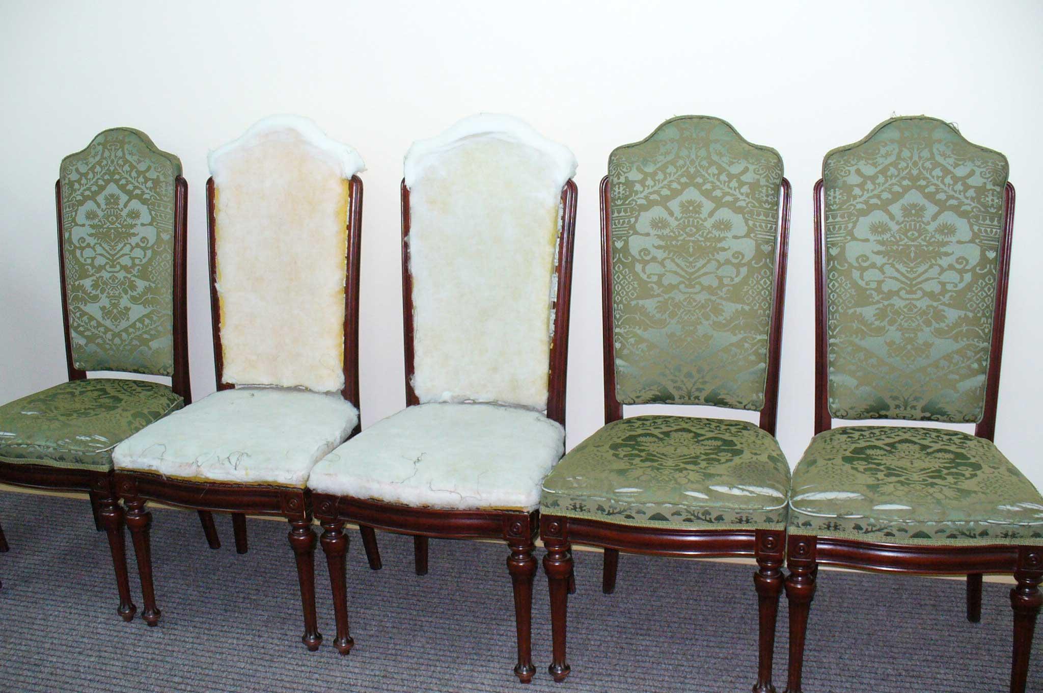Как перетянуть стул своими руками мастер класс