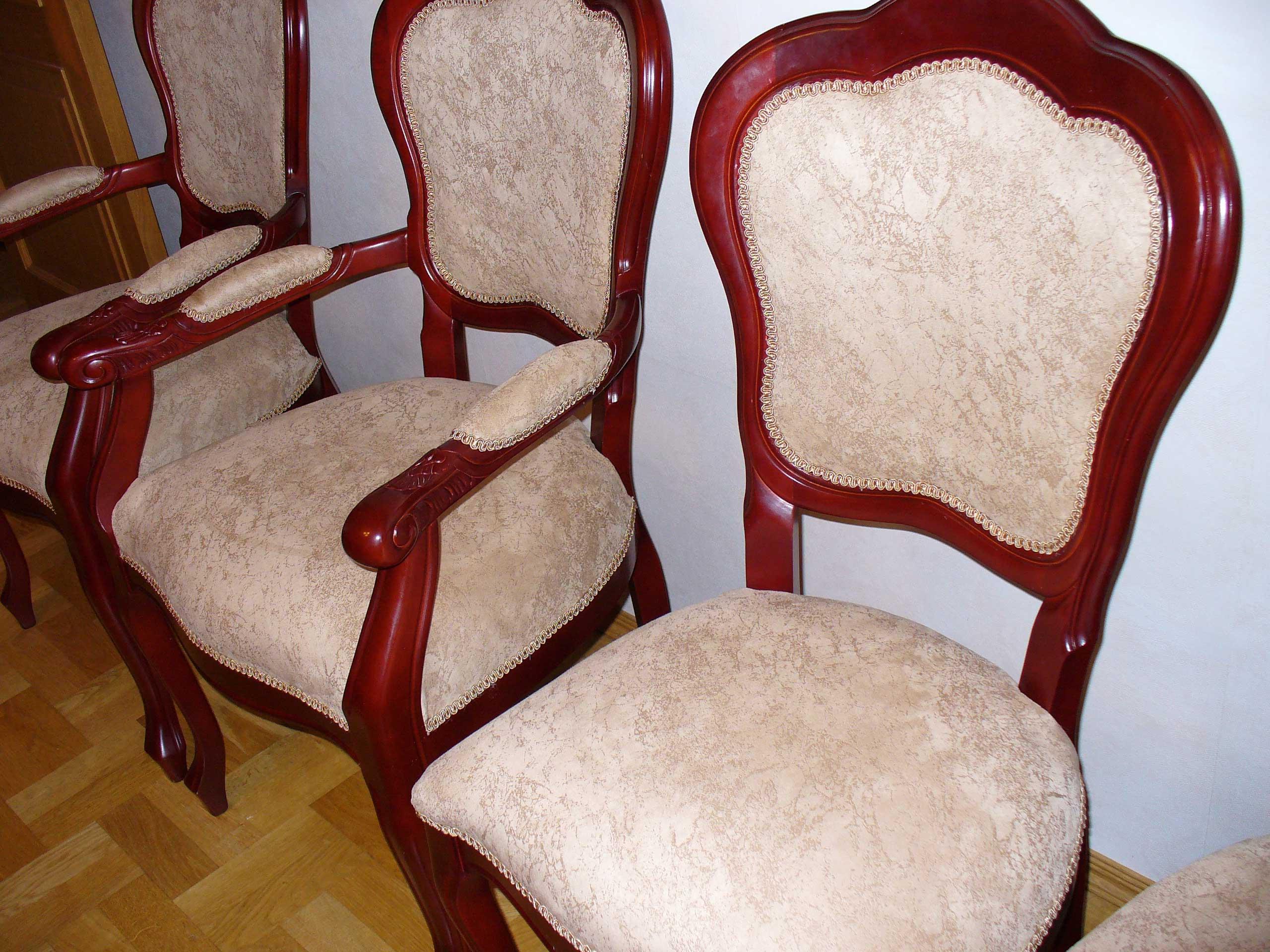 Как перетянуть стул своими руками: перетяжка обивки на стуле